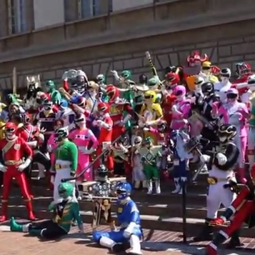 Nerd Reactor beams into Power Morphicon 2014!
