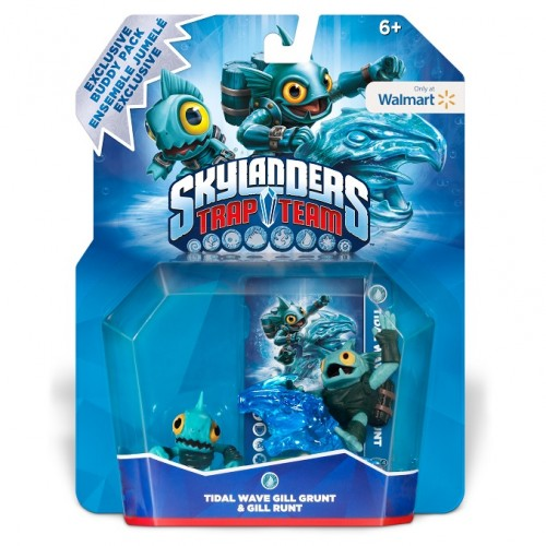 New Skylanders mini characters and an exclusive Wal-Mart pack