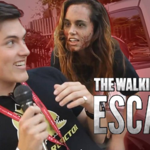 SDCC 2014: Nerd Reactor runs The Walking Dead Escape!