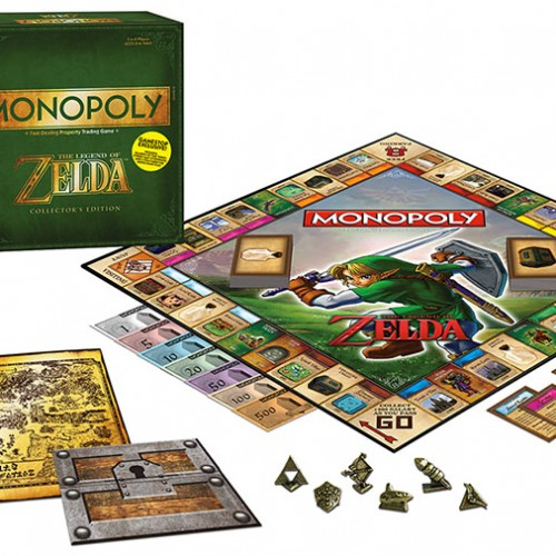 Monopoly: Legend of Zelda!