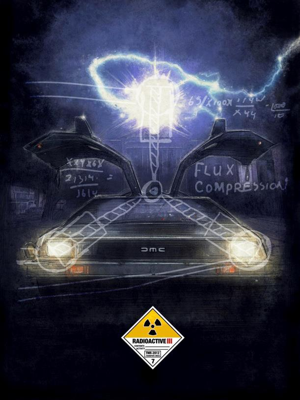 bttf-delorean-time-machine-art2 By Paul Shipper