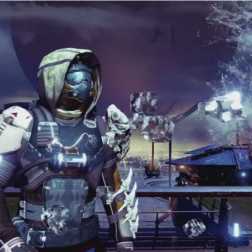 Bungie's Ghost from Destiny takes the ALS ice bucket challenge