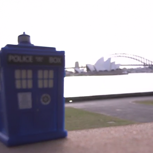 Doctor Who: The World Tour: the TARDIS lands in Sydney