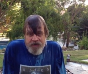 mark hamill ice bucket challenge