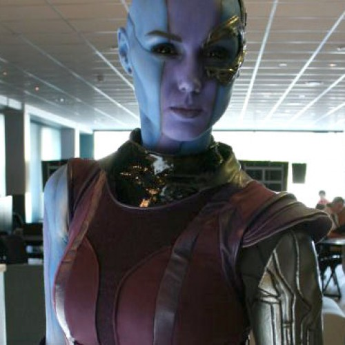 The best Nebula cosplay you'll see from Guardians of the Galaxy