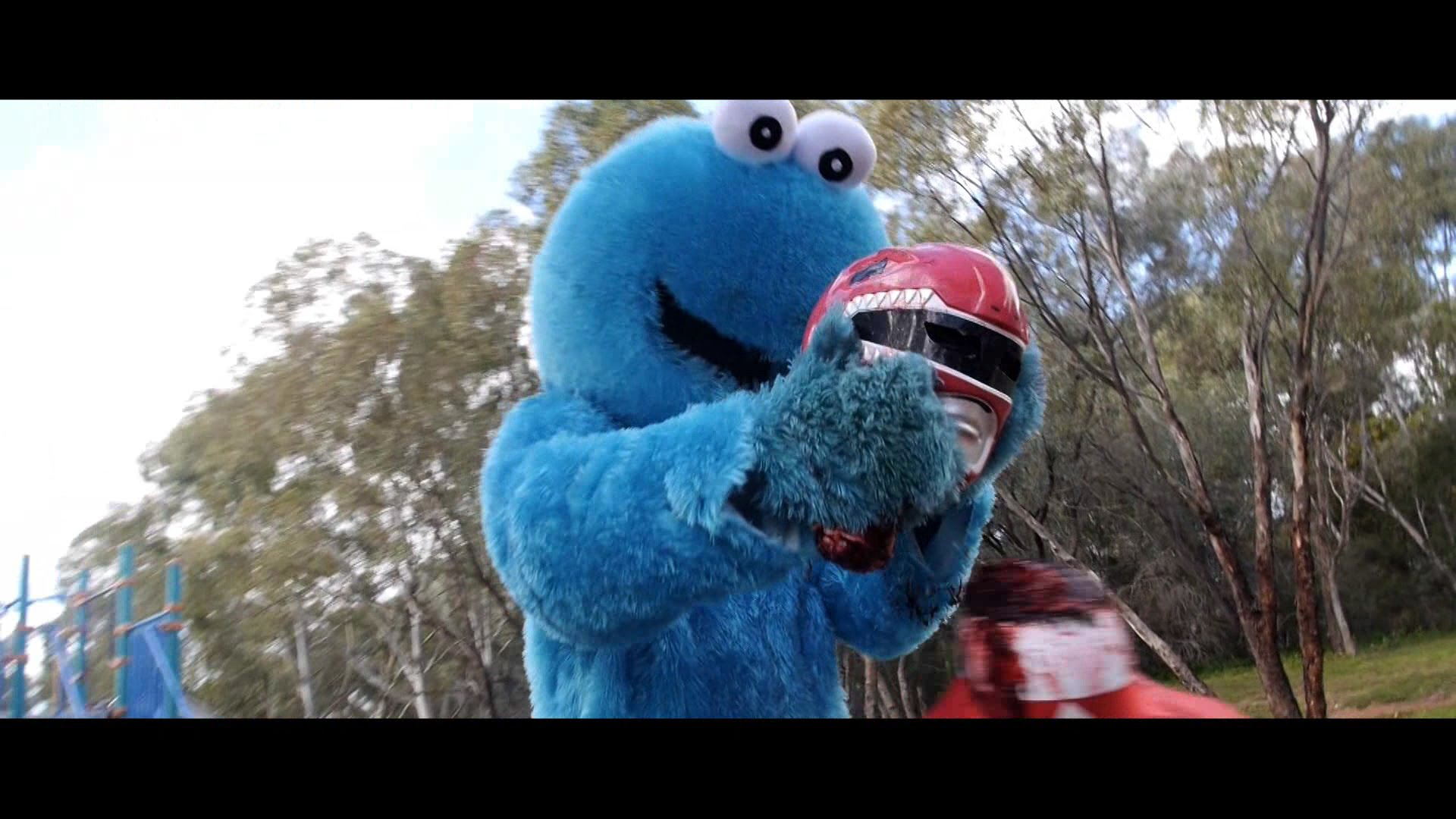 Nerd Reactor | Power Rangers vs. the Cookie Monster