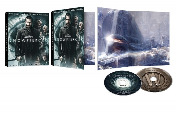 snowpiercer Blu-ray fold out