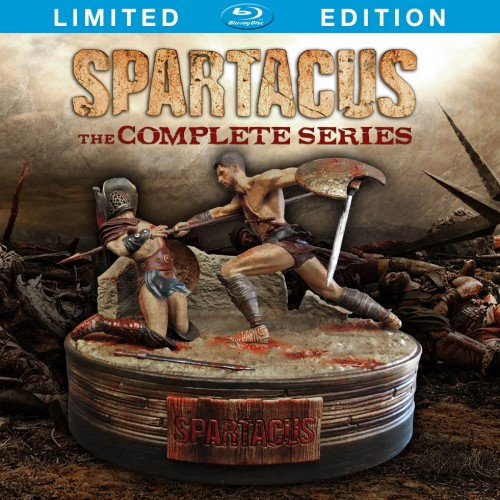 Spartacus: The Complete Series heads to Blu-ray and DVD on September 16th