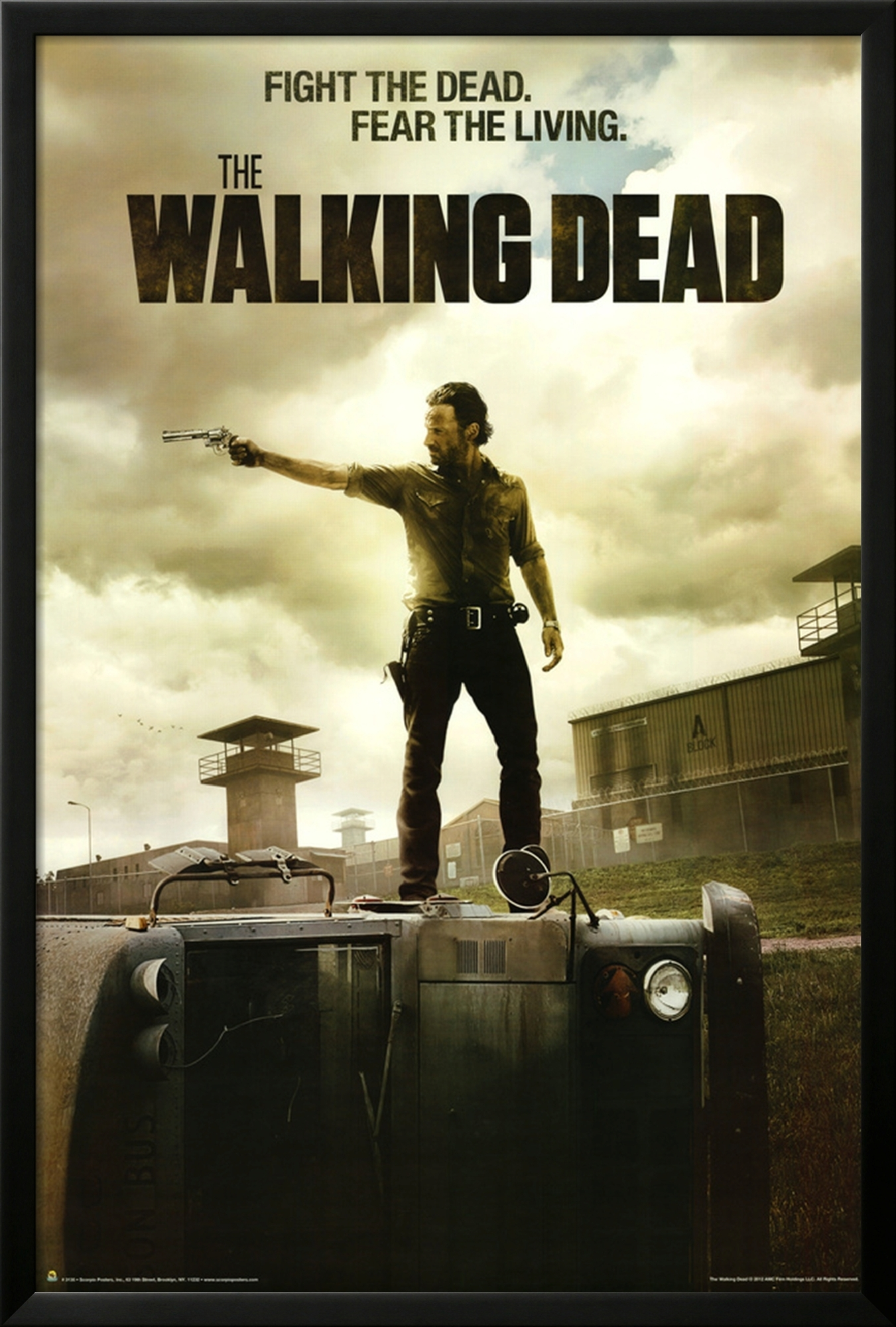 contest the walking dead framed posters giveaway nerd. Black Bedroom Furniture Sets. Home Design Ideas