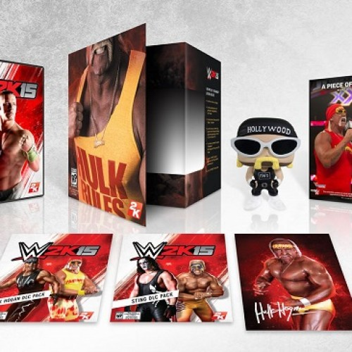 WWE 2K15 announces the Hulkamania Edition