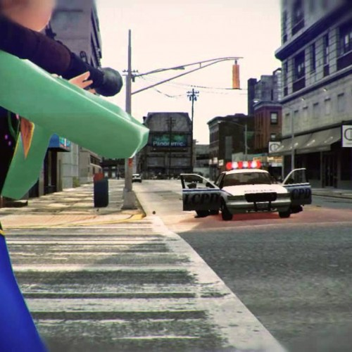 Frozen's Anna mows down cops and civs GTA IV style (video)