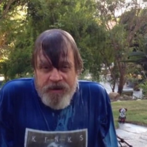 Mark Hamill and Harrison Ford do the ALS Ice Bucket Challenge