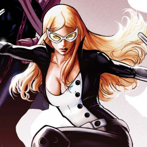 Here's a still of Adrianne Palicki as Mockingbird in Marvel's Agents of S.H.I.E.L.D.