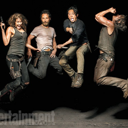 The Walking Dead cast gets silly with new portraits, plus new character