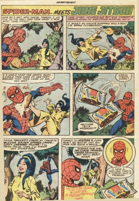 COMICAD hostess spidey_vs_june