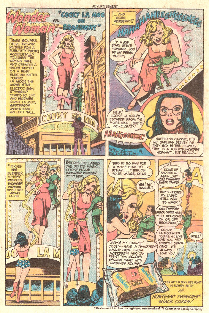 COMICAD hostess wonder woman cooky la moo
