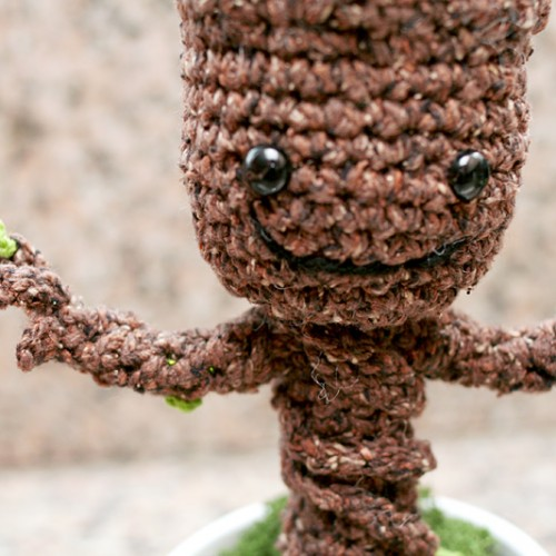 Grootorial: Make your own crochet potted baby Groot
