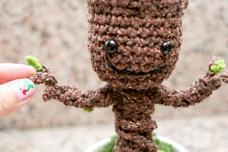 Baby Groot Knitting Pattern : Grootorial: Make your own crochet potted baby Groot - Nerd Reactor