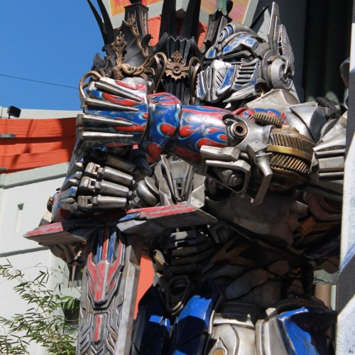 Optimus Prime honored at TCL Chinese Theatre