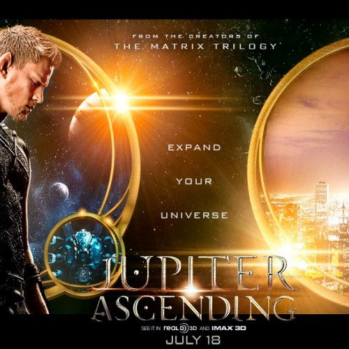 New trailer for Jupiter Ascending starring Channing Tatum and Mila Kunis