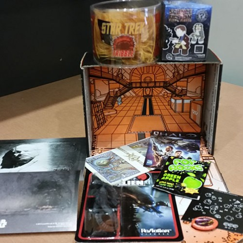 Loot Crate September 2014 Mystery Box Review