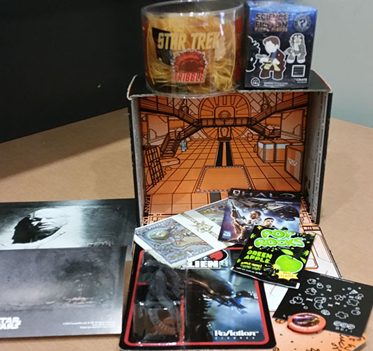 loot crate september 2014 mystery box review nerd reactor
