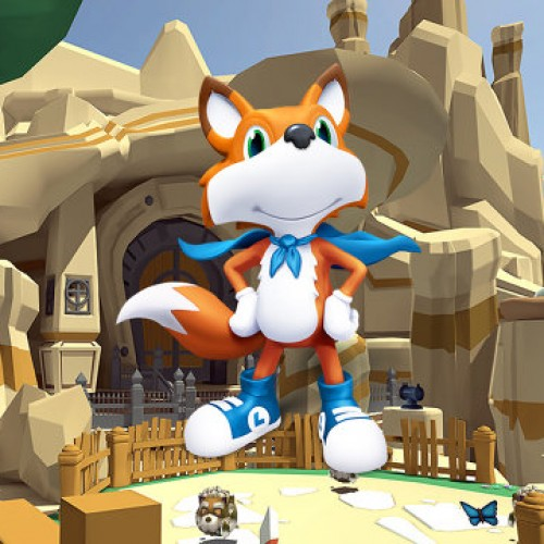 PAX Prime 2014:  Lucky's Tale on Oculus Rift