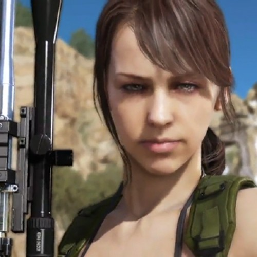 Quiet may corrupt your Metal Gear Solid V save data