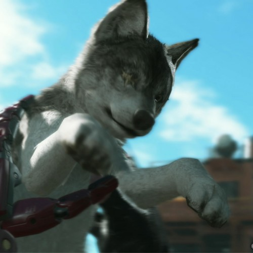 Snake gets a pet wolf in Metal Gear Solid V: The Phantom Pain