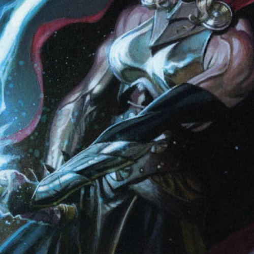 Female Thor makes obscene gesture in variant cover?
