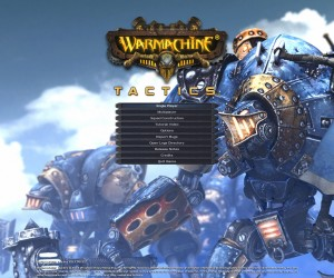 Warmachine mainmenu