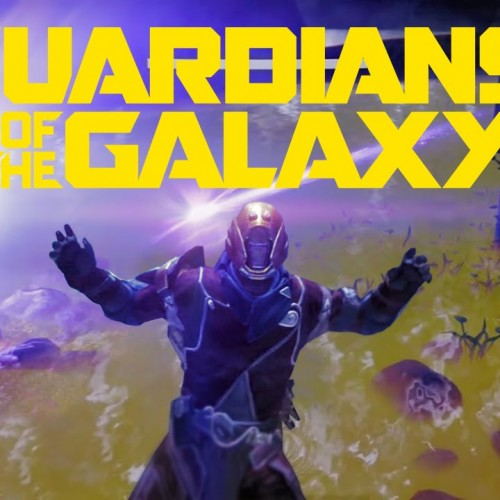 Guardians of the Galaxy's opening scene recreated using Bungie's Destiny