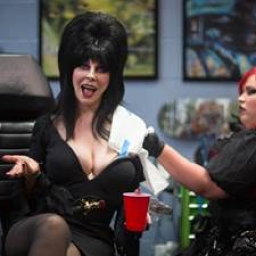 Elvira to get her first tattoo on A&E's Epic Ink