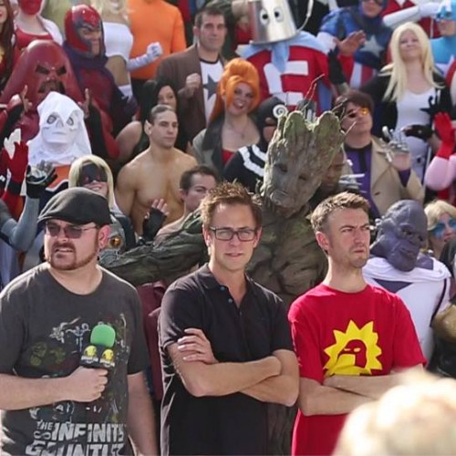 James Gunn surprises Marvel cosplayers at Dragon Con 2014
