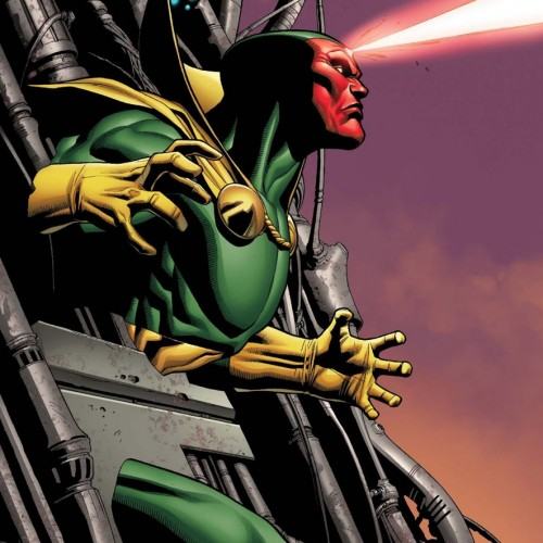 An even closer look at Vision in Avengers: Age of Ultron