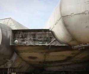 millennium falcon star wars episode vii