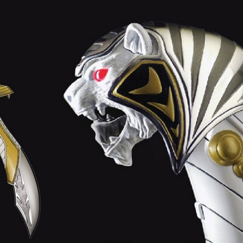 Mighty Morphin Power Rangers White Ranger Legacy Saba coming in February