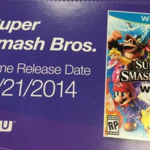 The Wii U Super Smash Bros. may release on November 21