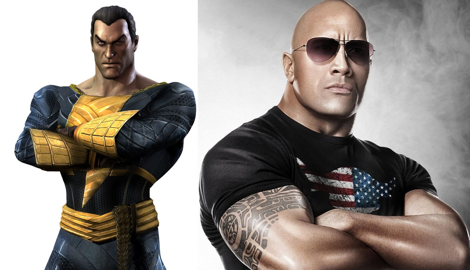 Dwayne Johnson Teases Superman vs. Black Adam In Upcoming DC Film