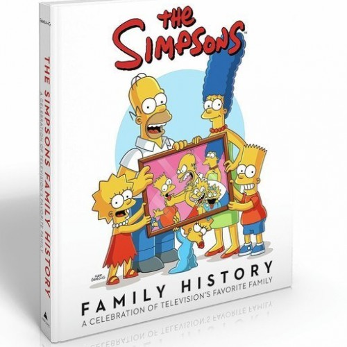 Review: The Simpsons Family History book