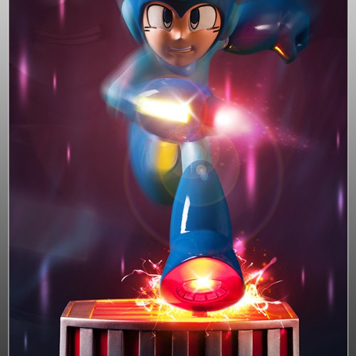 Classic Mega Man statue coming from First 4 Figures