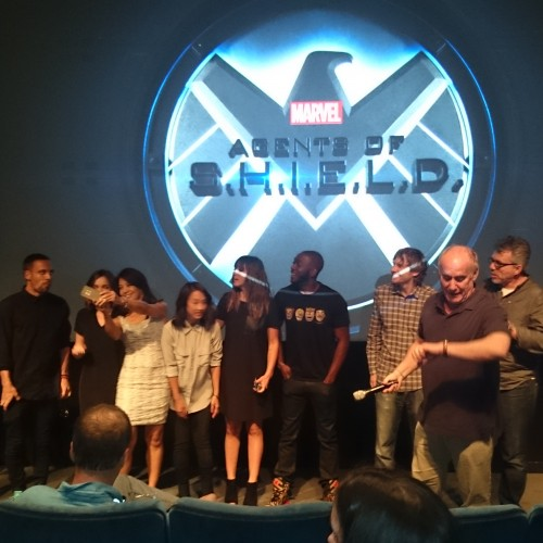 Marvel's Agents of S.H.I.E.L.D. cast and creators talk Season Two