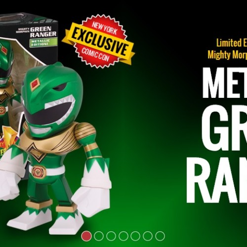 Bandai announces two limited edition Power Ranger items for New York Comic Con