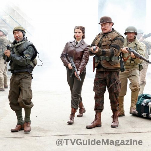 First look at Peggy Carter and the Howling Commandos in Agents of S.H.I.E.L.D.