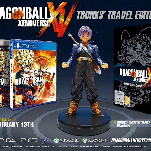 Dragonball Xenoverse Trunk's Travel Edition announced for Europe