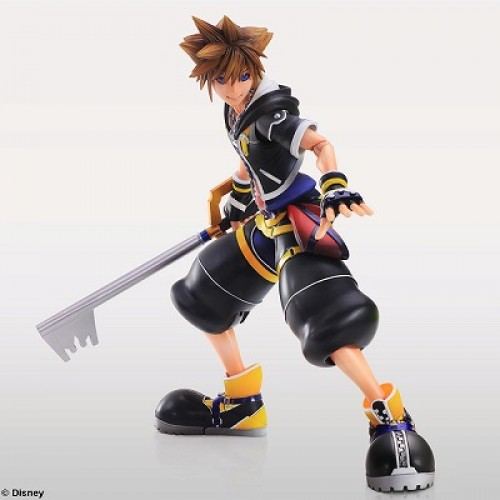 Kingdom Hearts' Sora and Roxas Play Art Kai figures coming December