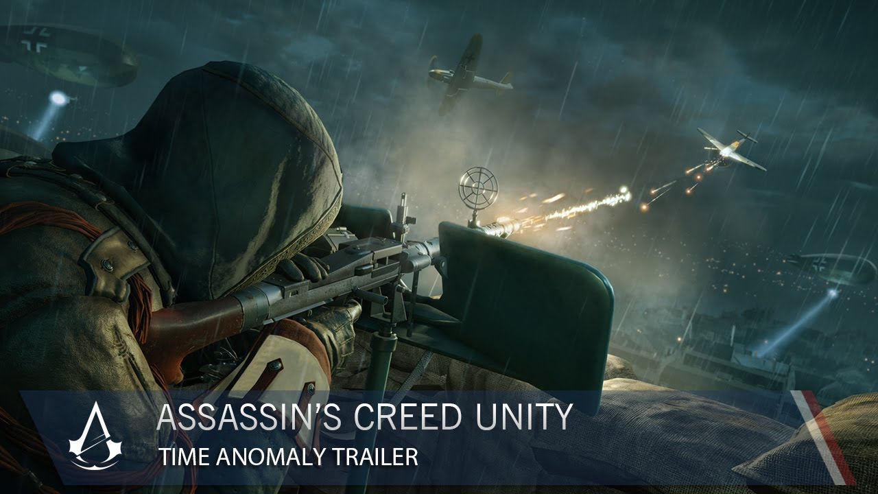 Assassin's Creed Unity time anomaly