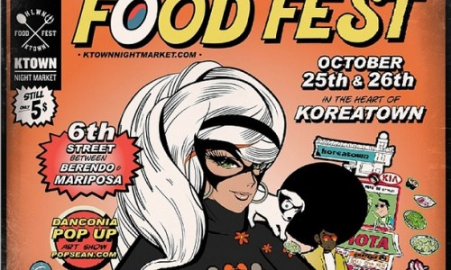 Get your maximum snack on Oct 25-26th at the K-Town Halloween Food Fest