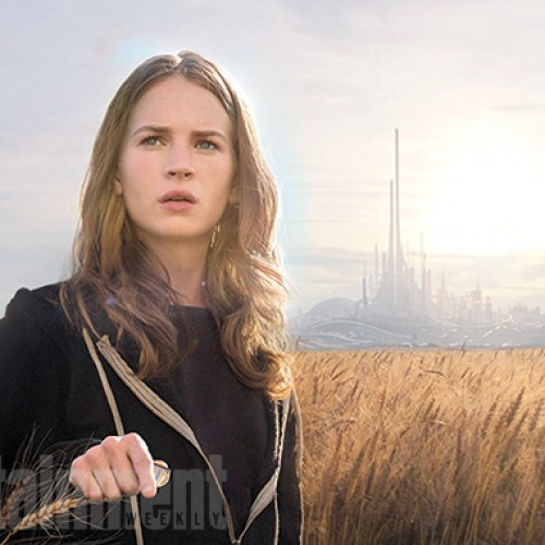 Disney's Tomorrowland gets a first look