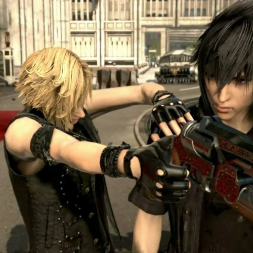 Watch two minutes of Final Fantasy XV gameplay